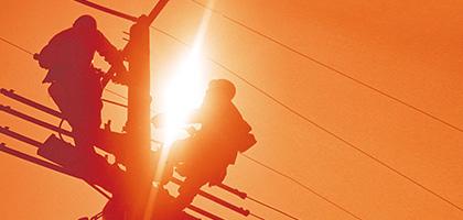 配電・通信線用 墜落防止装置