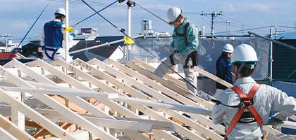 住宅・屋内工事用 墜落防止装置