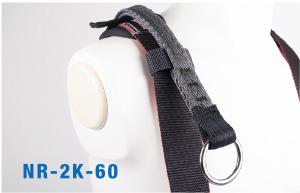 フック方式移動ロープ取付用連結ベルトを標準装備